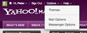 Choose Mail Options