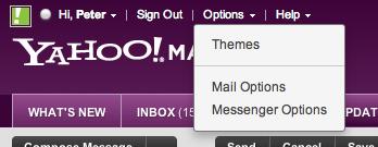 Choose Mail Options