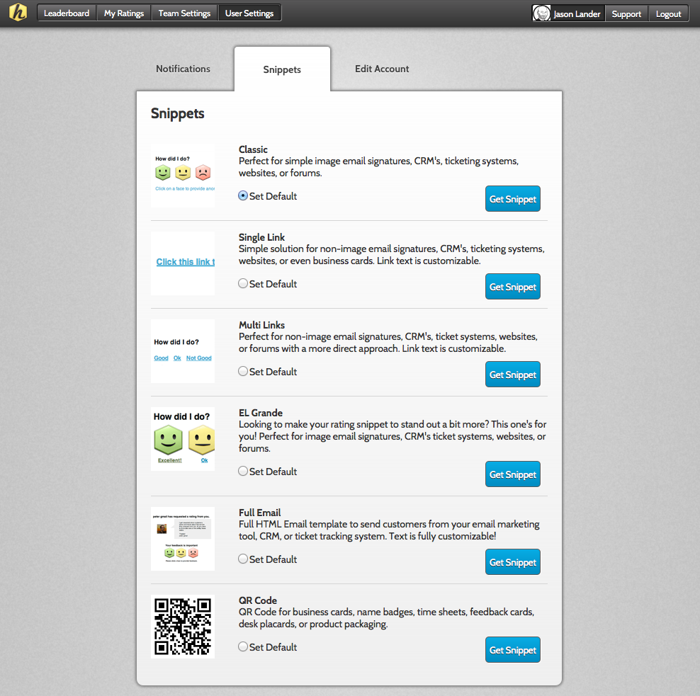 Customer Rating Feedback System Offline Online Email Qr Codes Hively
